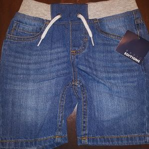 Boy's Pull-on Shorts with Tie Waist